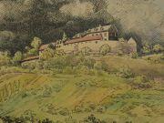 Joseph Stoll Zeichnungen und Skizzen von Landschaften und Städten